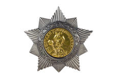 Order of Bohdan Khmelnytsky II degree . Stock Images