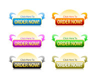 Order Button Stock Photos