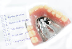 Order denture Stock Photos