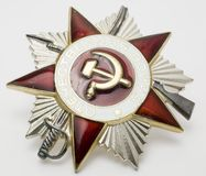 Order of domestic war. Ussr medal Royalty Free Stock Image
