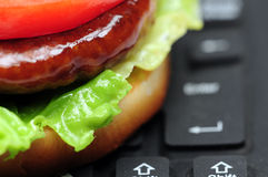 Order Fastfood Royalty Free Stock Images