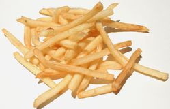 Order of French Fries Stock Images