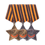Order of Glory three degrees.  Stock Images