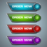 Order Now Button Stock Photos