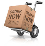 Order now webshop icon Royalty Free Stock Image