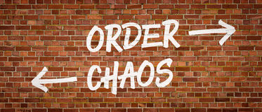 Free Order Or Chaos Royalty Free Stock Photo - 68884895