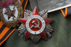 Order of the Patriotic War Stock Images