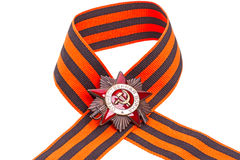 Order of the Patriotic War on ribbon Stock Image
