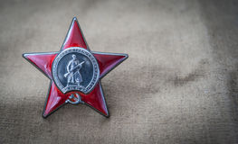 Order of the Red Star Stock Photo