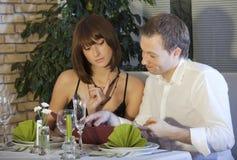 Order in restaurant Stock Images