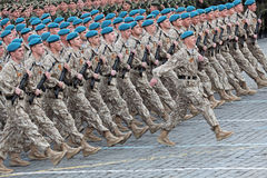 Order soldiers Stock Photography