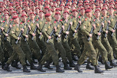 Order soldiers Stock Image