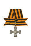 The Order of St. George 3 degrees (soldier) Stock Photo