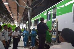 Inpeksi Train Generation 2. 684/5000 Royalty Free Stock Photo