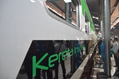 Inpeksi Train Generation 2. 684/5000 Royalty Free Stock Image