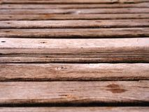 Ordered old wooden surface for product backdown photo Stock Images