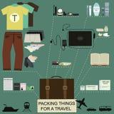 Orderliness ταξιδιού infographic Στοκ εικόνα με δικαίωμα ελεύθερης χρήσης