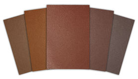 Orderly leather texture Stock Image