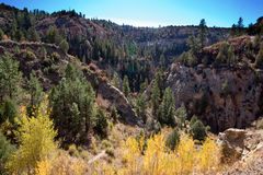 Orderville Canyon from Above Stock Photography