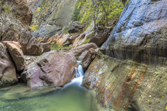 Orderville Canyon Stock Photo