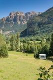 Ordesa en Monte Perdido National Park stock foto