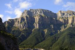 Ordesa national park Royalty Free Stock Image