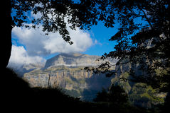 Ordesa National Park and Monte Perdido. Stock Photo