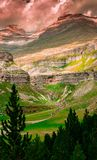 Ordesa Nationalpark und Monte Perdido stockfoto
