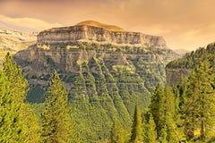 Ordesa und Monte Perdido National Park stockbild