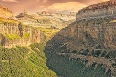 Ordesa und Monte Perdido National Park stockfotografie