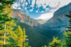 Ordesa und Monte Perdido National Park lizenzfreies stockfoto
