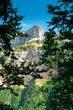 Ordesa und Monte Perdido National Park lizenzfreie stockfotos