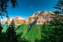Ordesa und Monte Perdido National Park lizenzfreie stockbilder
