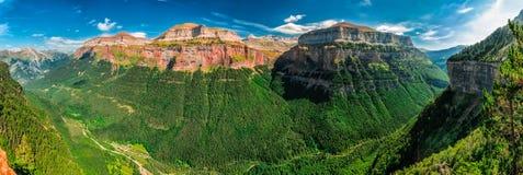 Ordesa und Monte Perdido National Park lizenzfreie stockfotografie