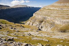 Ordesa valley Royalty Free Stock Images