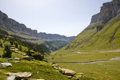 Ordesa valley - Spanish Pyrenees Royalty Free Stock Photo