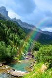 Ordesa y Monte Perdido National park, Huesca, Aragon, Spain. stock photos