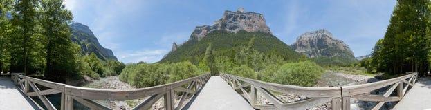 Ordesa y Monte Perdido National Park, Spain Stock Image