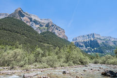 Ordesa y Monte Perdido National Park, Spain Stock Images
