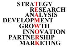 Ordet 'teamwork 'är skriftligt i röda bokstäver och komponeras av en kombination av andra ord vektor illustrationer