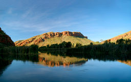 ordflod Australien Arkivbild