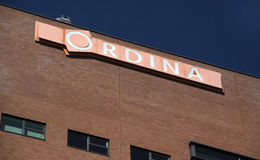 Ordina on a wall of a building Royalty Free Stock Photo