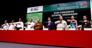 Ordinario di chiusura del congresso XVII della condizione degli operai Immagine Stock Libera da Diritti