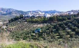 Ordinary andalusian town. Quesada Stock Photo