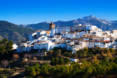 Ordinary andalusian town. Quesada Stock Photography