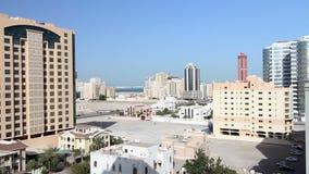 Ordinary bahrain streets Royalty Free Stock Photos