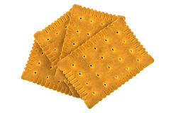Ordinary biscuits Royalty Free Stock Photo