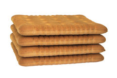 Ordinary biscuits Royalty Free Stock Image