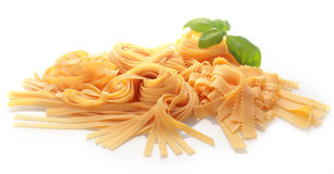 Ordinary and Brass Wheel Cutting Fresh Pasta Stock Photos
