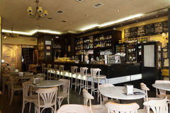 Ordinary cafe in Logrono, La Rioja Stock Images